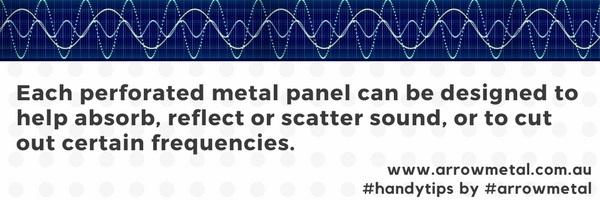 Perforated metal in acoustics - handy tips - Arrow Metal