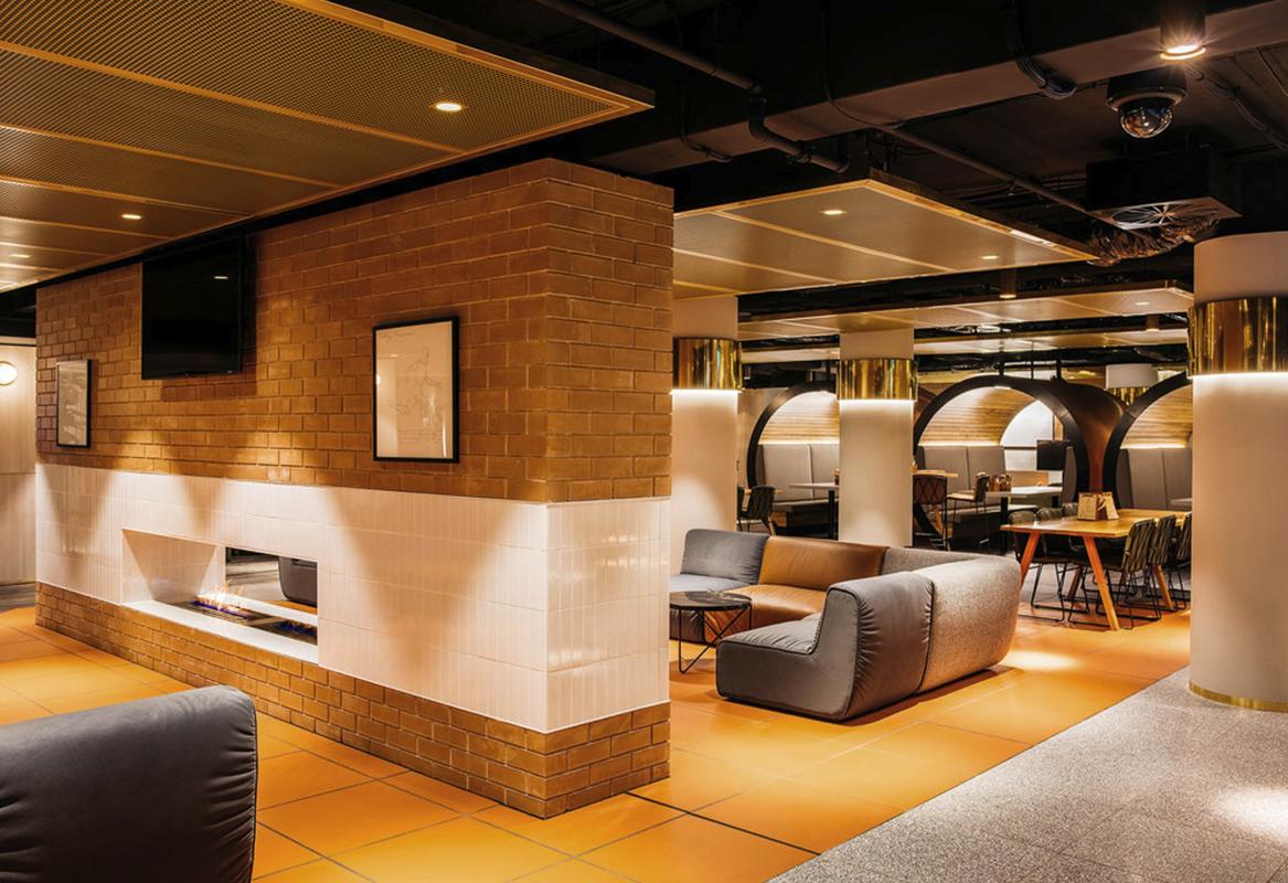 BRASS INTERIOR DESIGN - restaurant design
