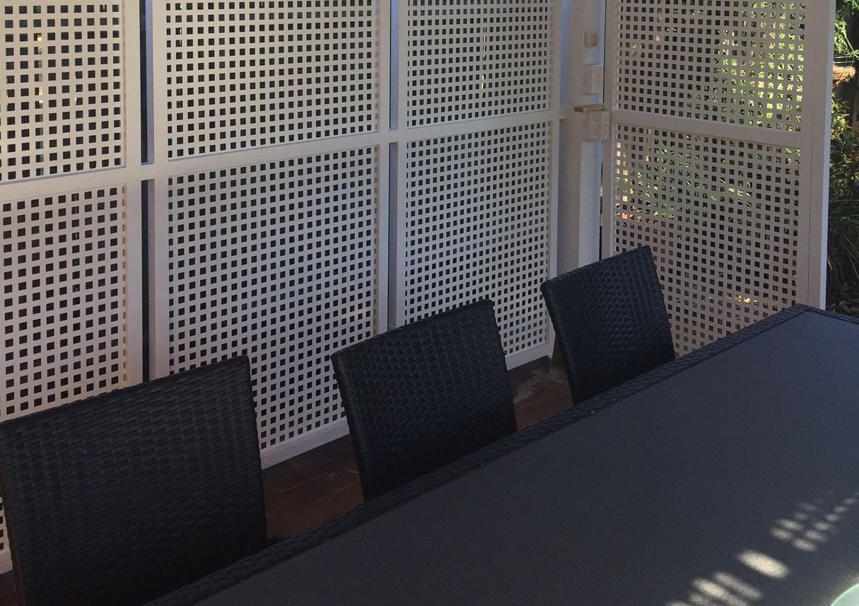 Perforated metal finishes - Arrow Metal expertise
