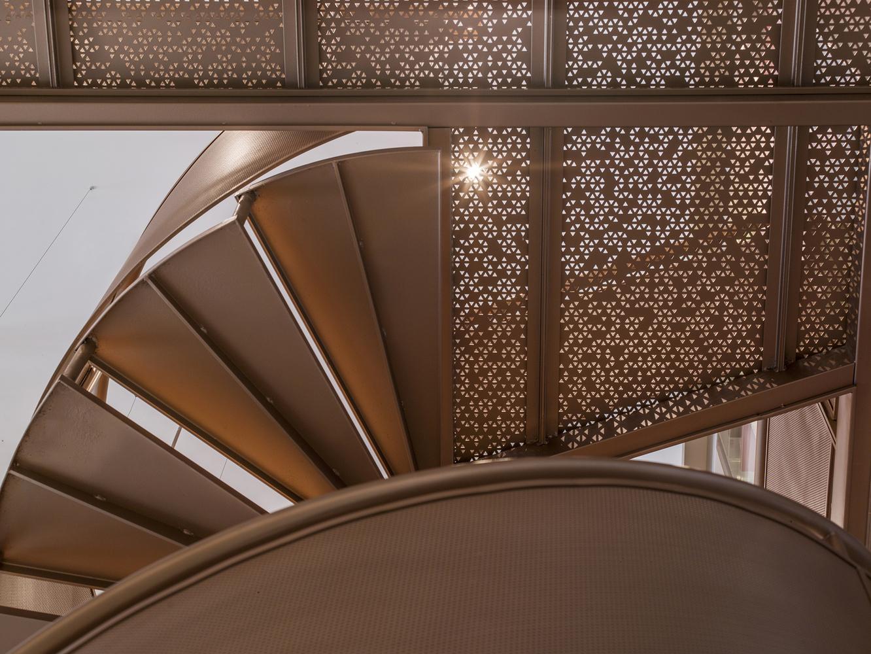 Metal balustrade designs - Waterfrom Design