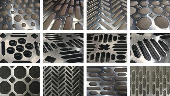 Perforated sheet metal designs - new capability at Arrow Metal