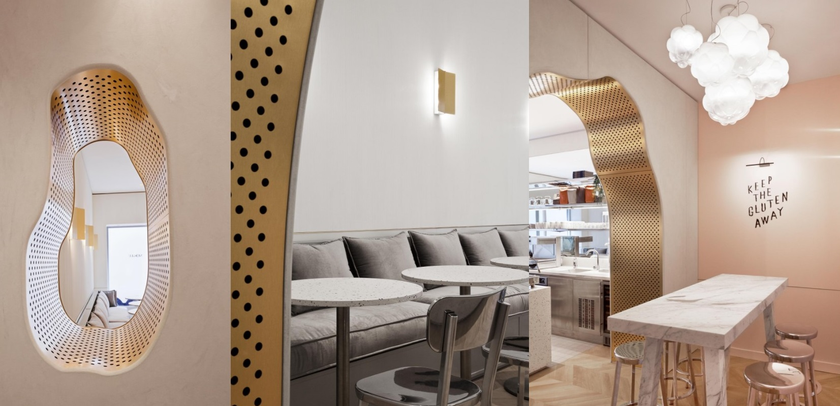 Metal interiors in restaurants - top designs chosen by Arrow Metal