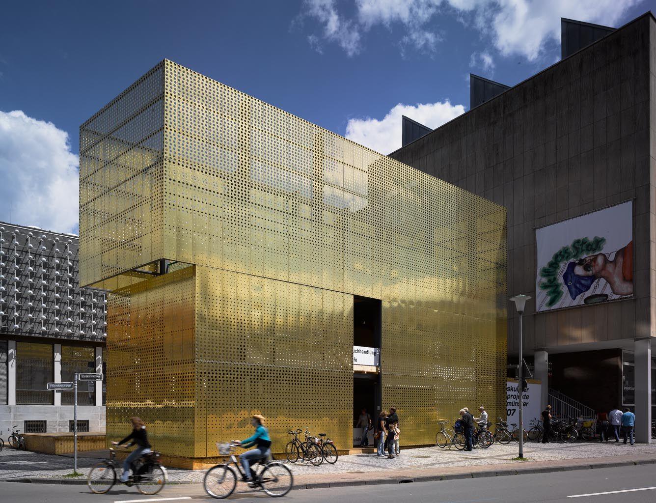 Metal building facade design