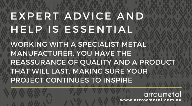 Specialist metal manufacturer - why you need expert advice and help