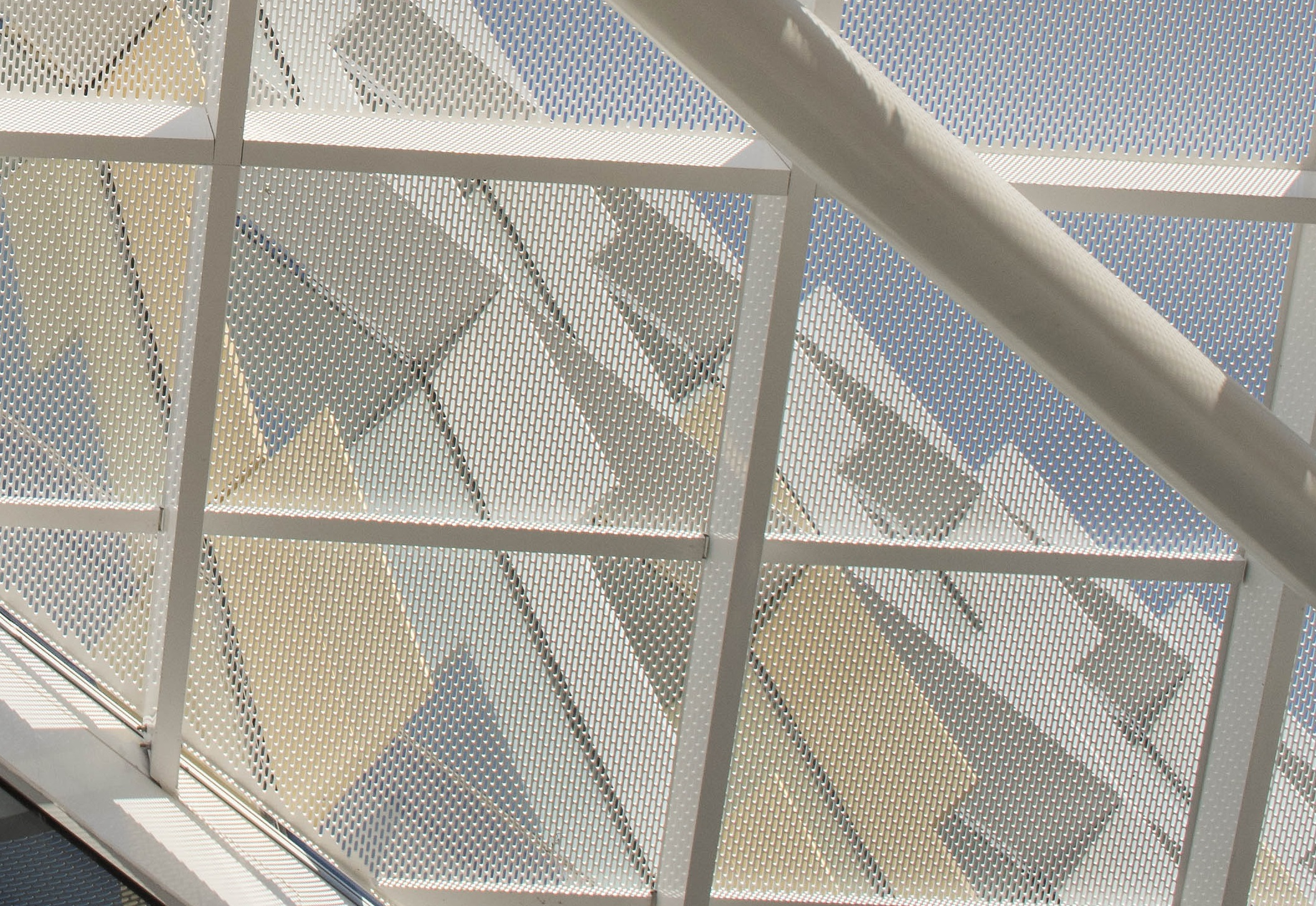 Perforated metal patterns - University of Newcastle project by Arrow Metal