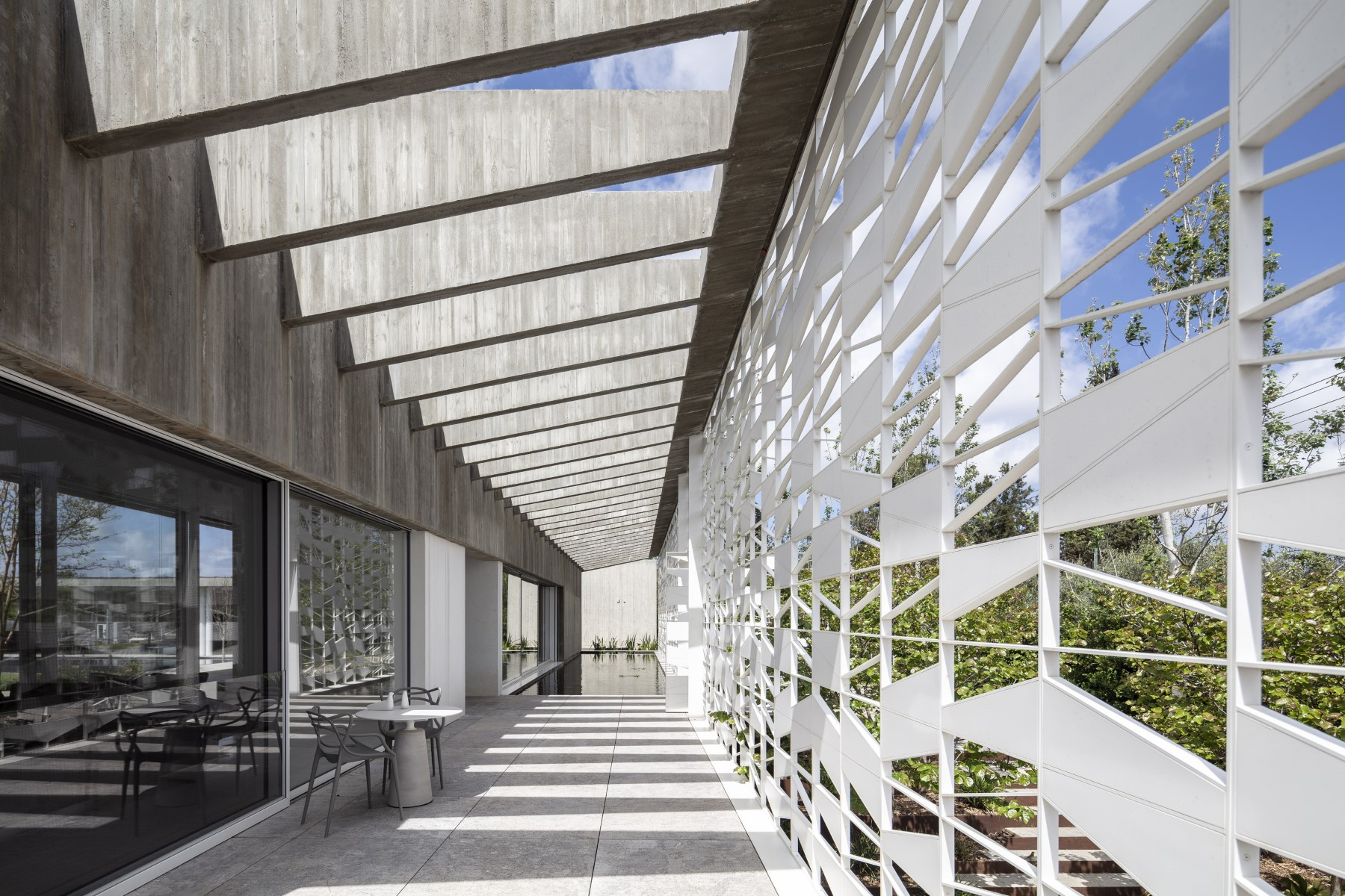 Residential perforated metal