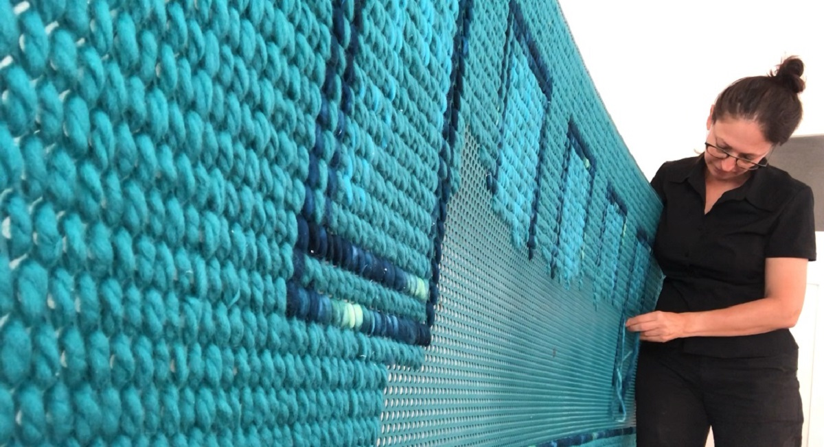 Perforated metal for events