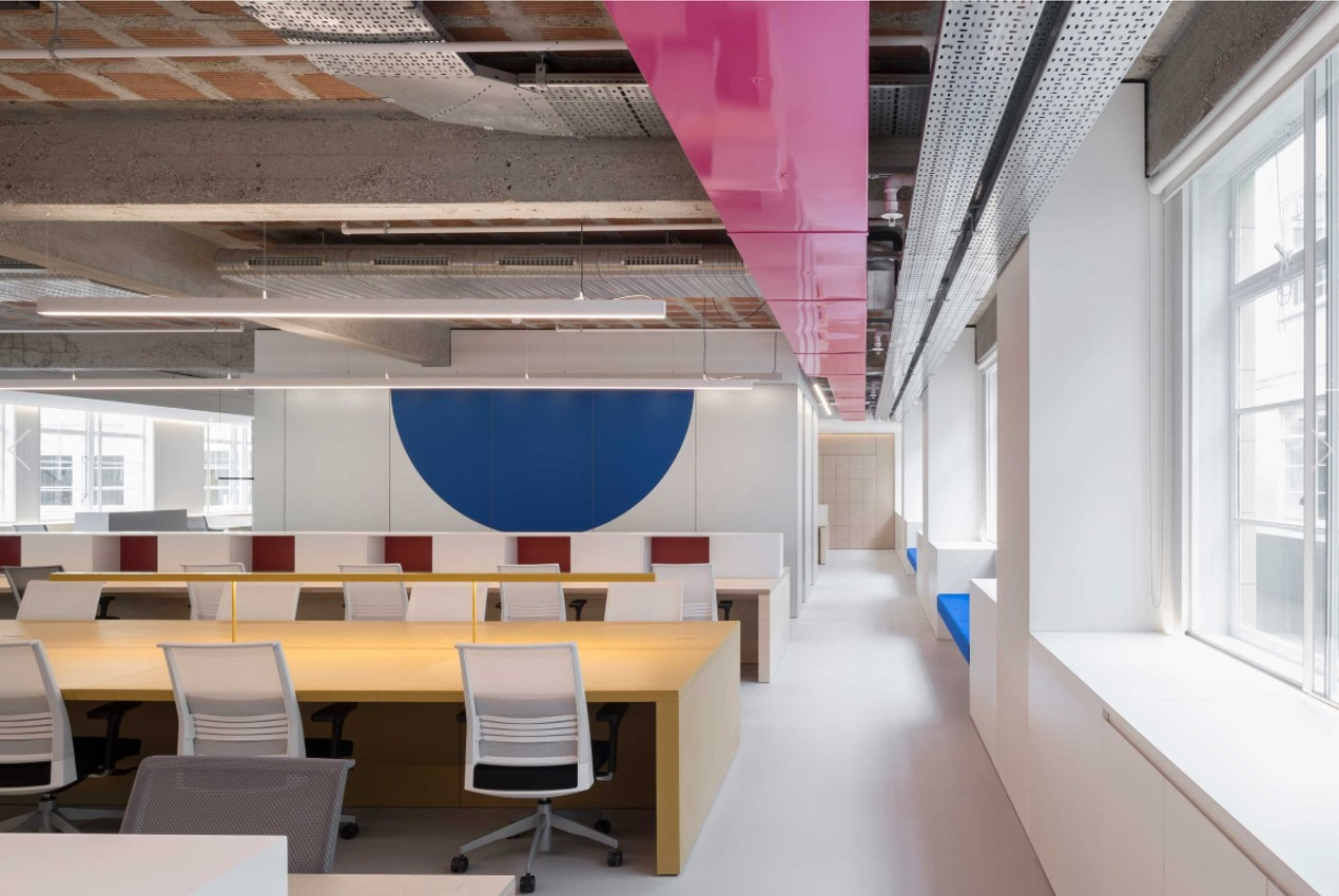Metallic interiors - Office fit out