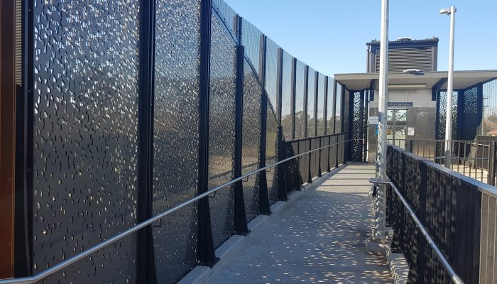 Try these different perforated panel patterns for your project