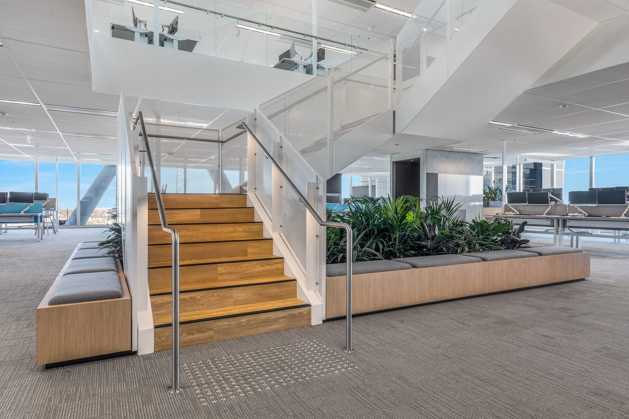 Metal Staircase - 100 Mount St