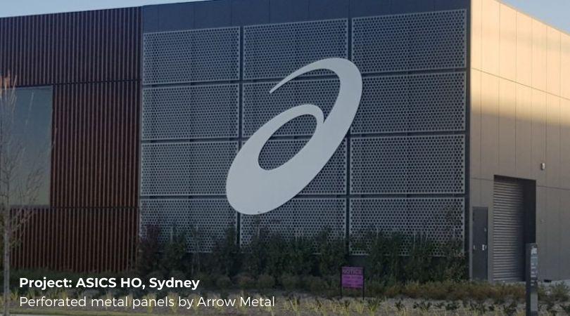 Perforated sheet ideas - ASICS Sydney HO