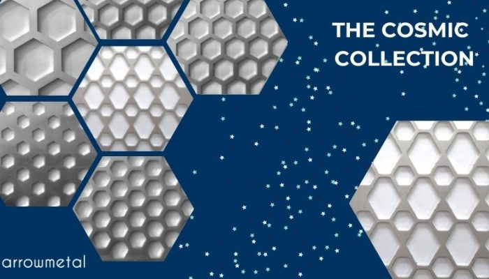 New Design Alert! Hexagon Perforated Metal Collection out now!