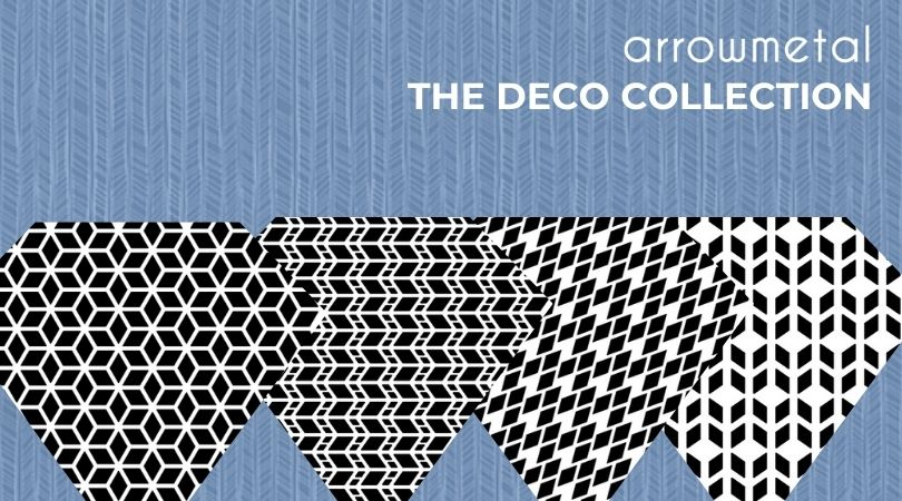 Perforated metal screen designs - Deco collection