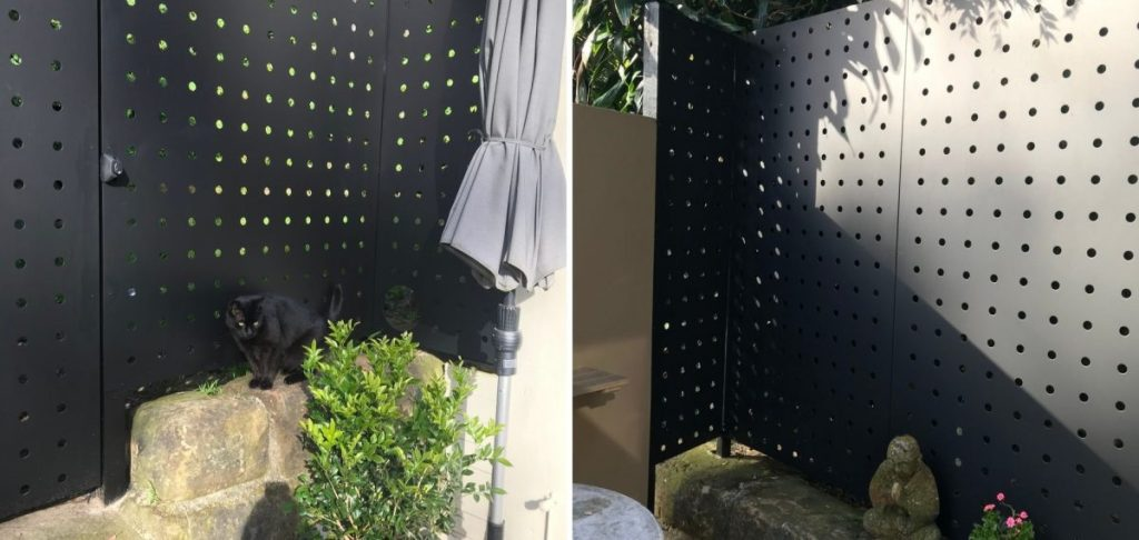 Small hole perforated metal