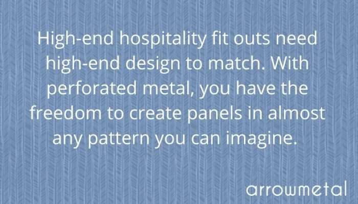 Hospitality fit out solutions