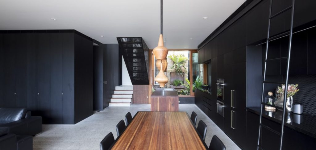 Mixing perforated metal - Balmain House - Project by Arrow Metal
